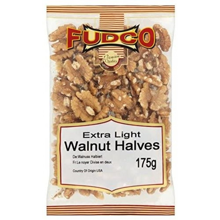 Fudco Walnut Halves 175g