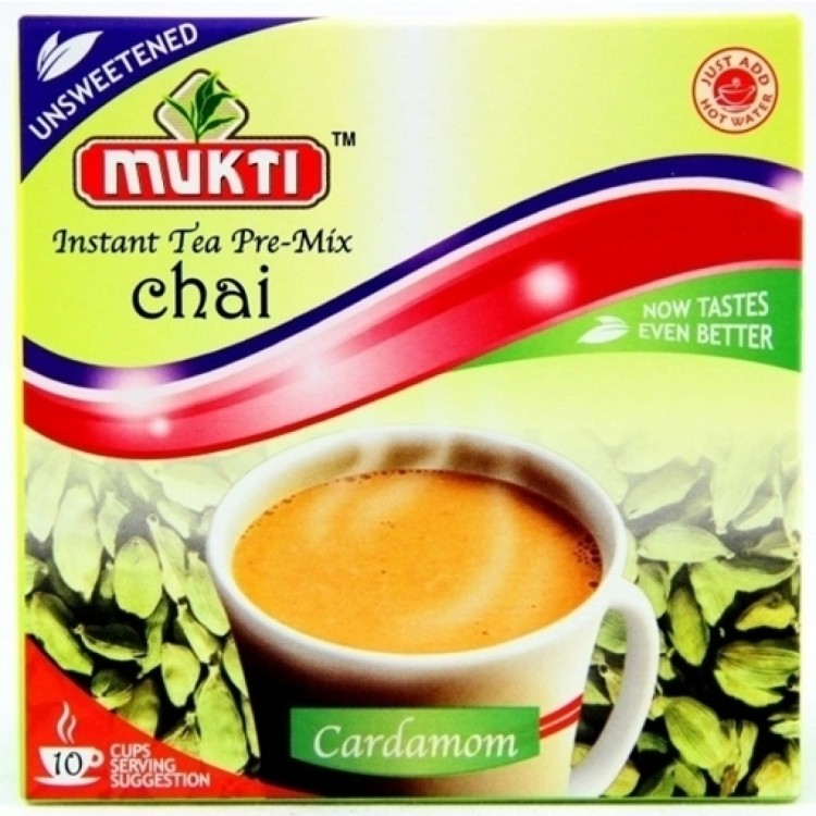 Mukti Cardamom Instant Chai 140g UnSweetned