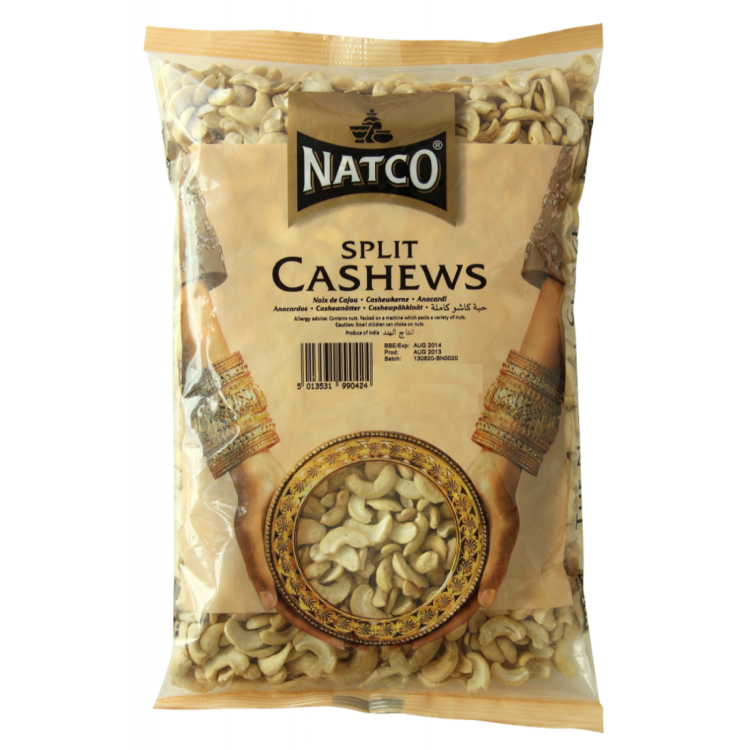 Natco Cashew Large white pieces 250g